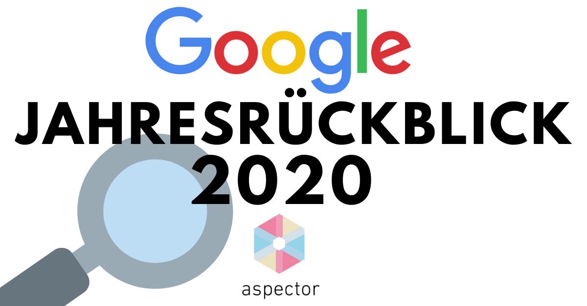 Google Trends 2020: Der Jahresrückblick eines etwas anderen Jahres